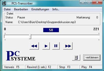 PCS-Transcriber